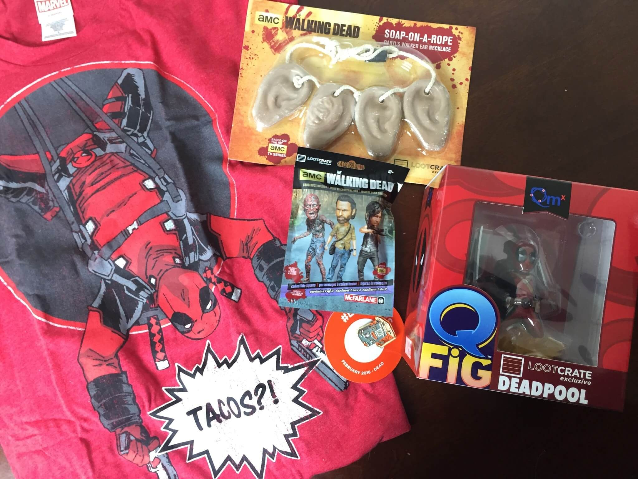 February 2016 Loot Crate Review + Coupons – DEAD