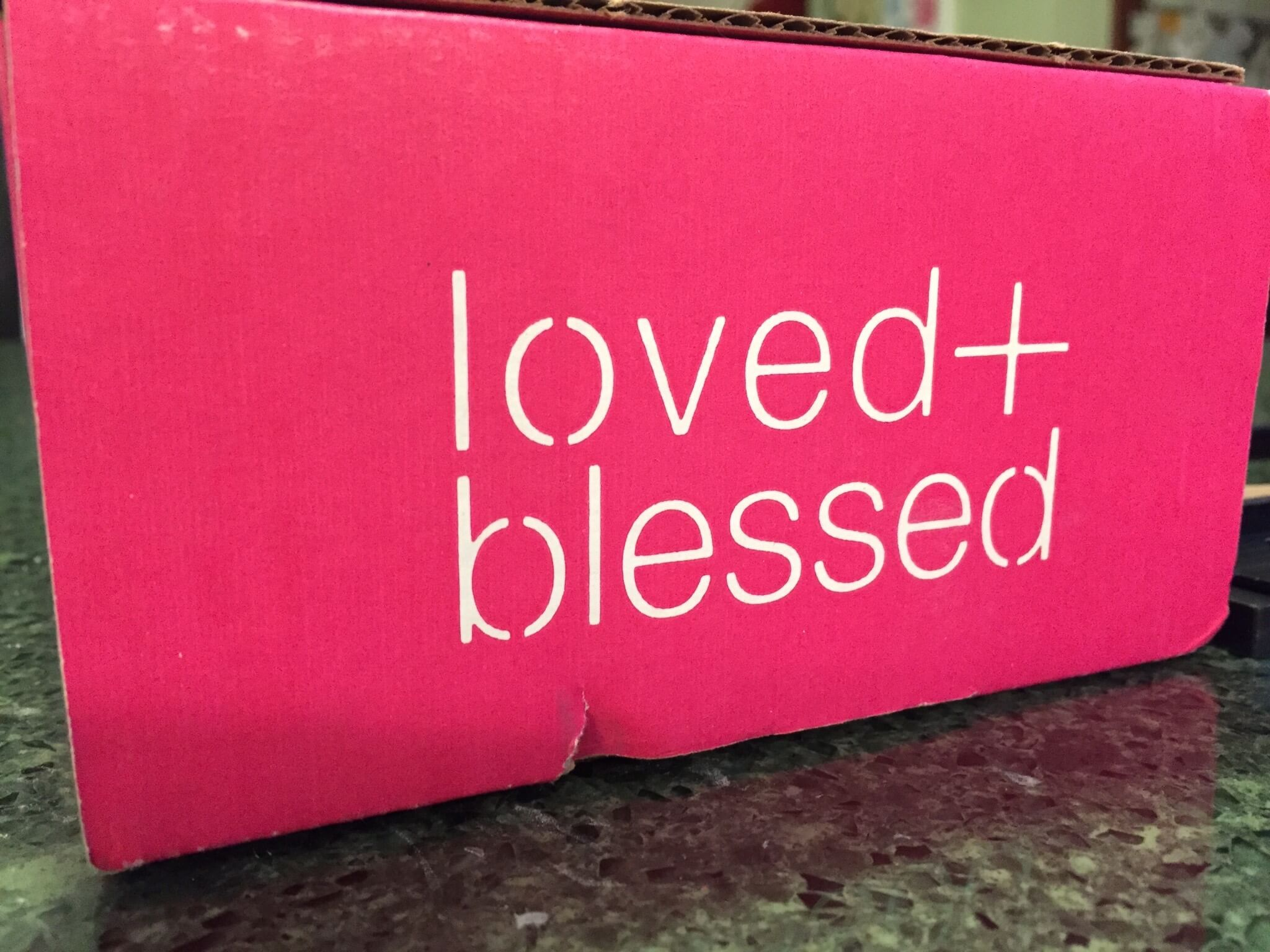 Loved + Blessed February 2016 Subscription Box Review