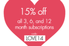 Olfactif Valentine's Day Coupon – 15% Off Subscription Plans!