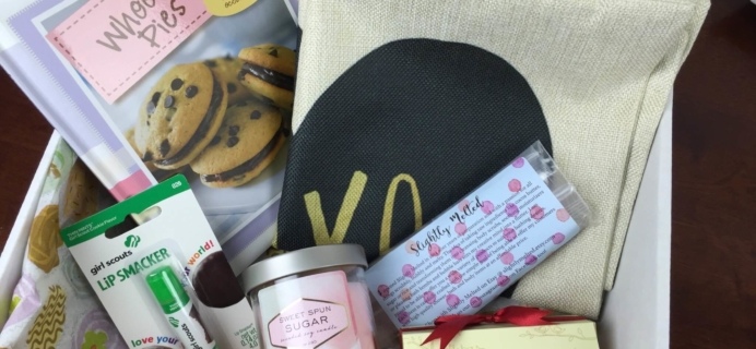 Peaches & Petals February 2016 Subscription Box Review & Half Off Coupon