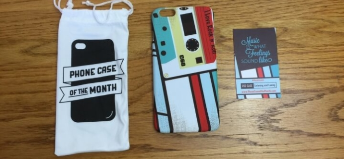 Phone Case of the Month Subscription Review + 50% Off Coupon – February 2016