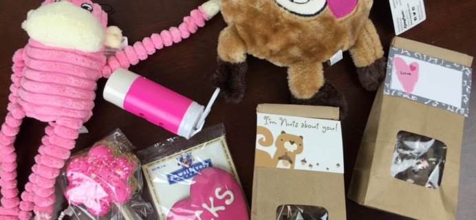 Pooch Party Packs February 2016 Subscription Box Review & Coupon