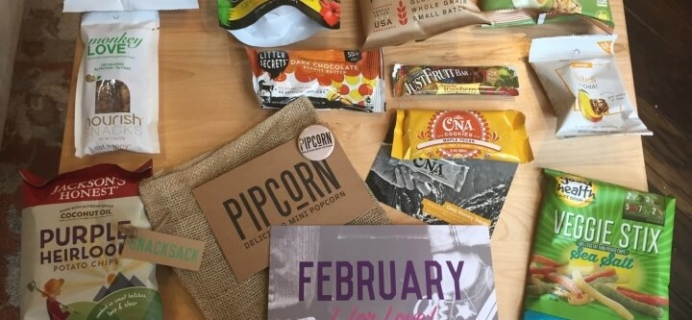 Snack Sack February 2016 Subscription Box Review & Coupon