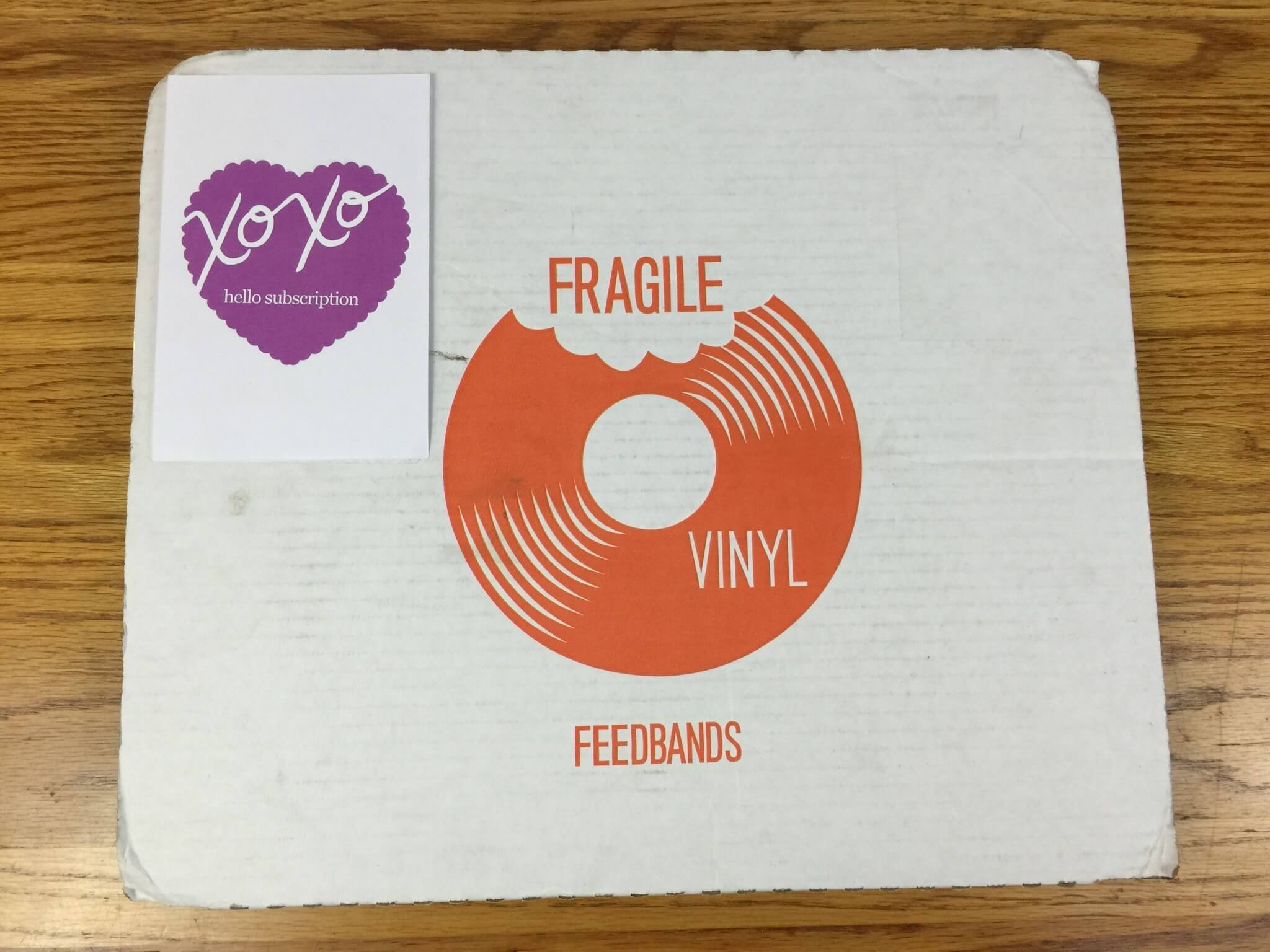 Feedbands Vinyl of the Month Subscription Review – March 2016