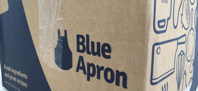Blue Apron Subscription Box Review & Coupon – October 2018