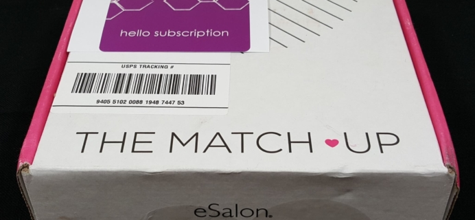 eSalon The Match-Up Subscription Box Review – April 2016 + Free Trial or 50% Off!