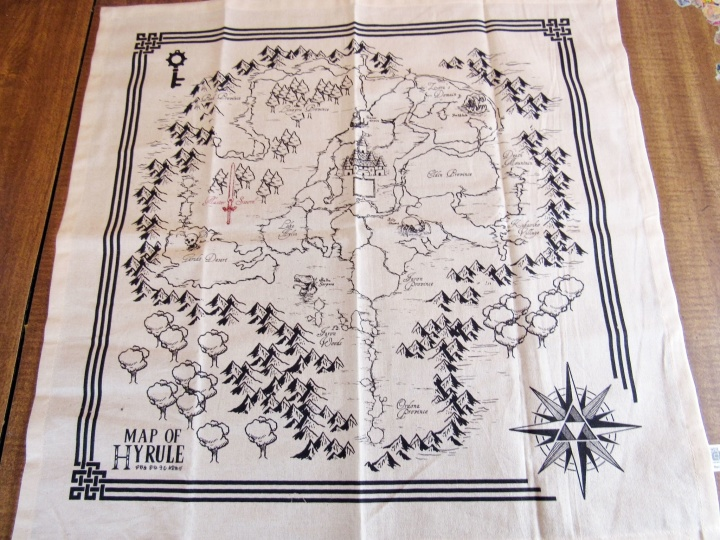 Map of Hyrule Tea Towel Set