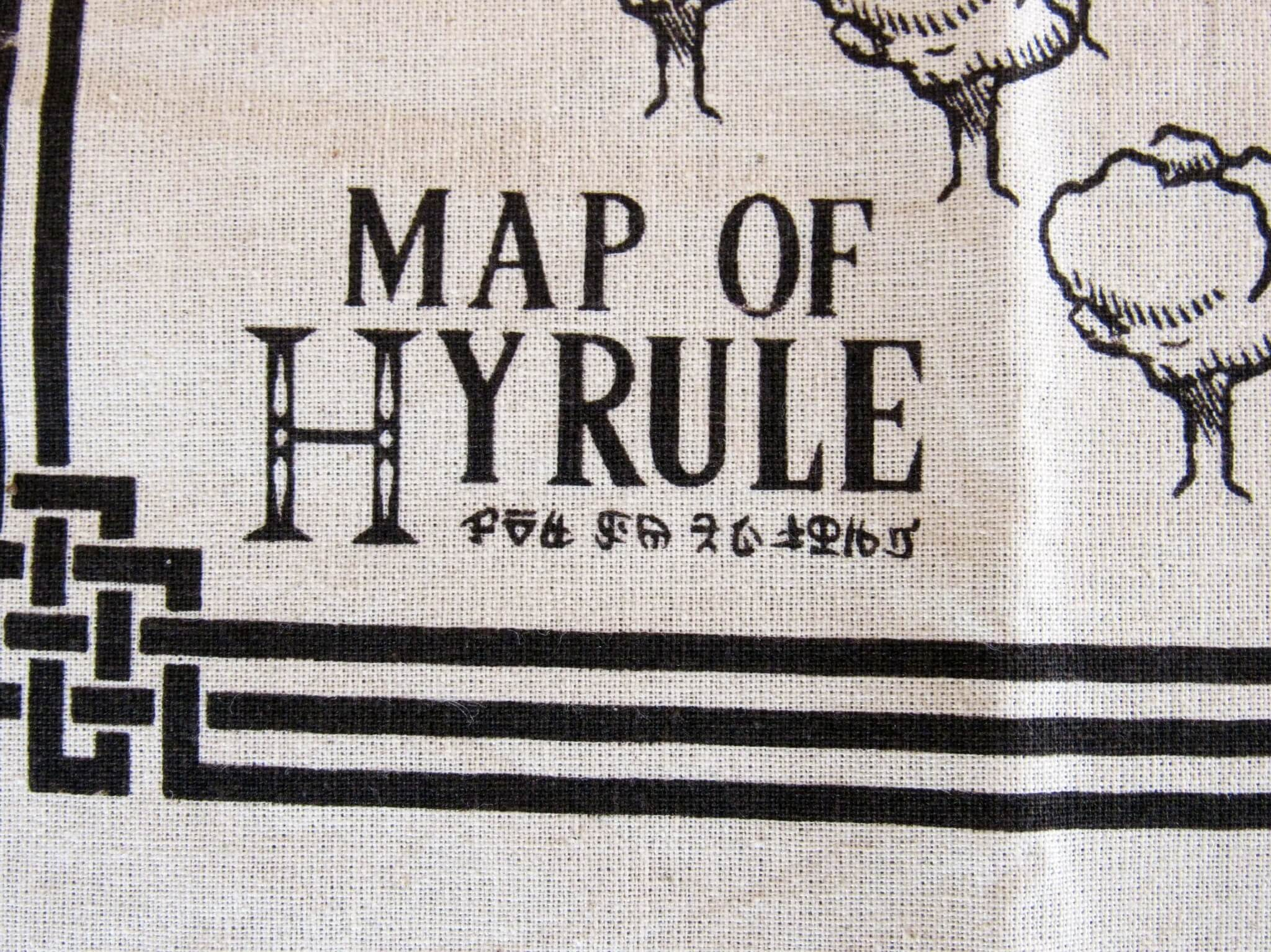 Map of Hyrule