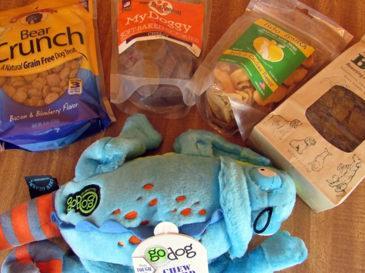 Everday Treats and Toy Subscription Care Package by Daisy-Care: February 2016