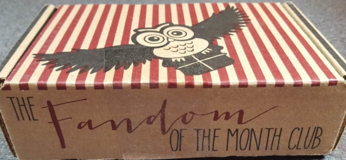 Fandom of the Month February 2016 Box Review & Coupon