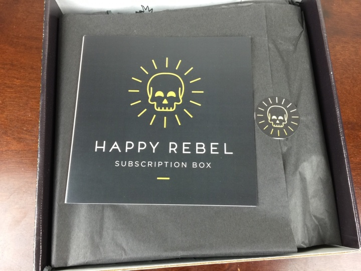 Happy Rebel Box Spring 2016 unboxing