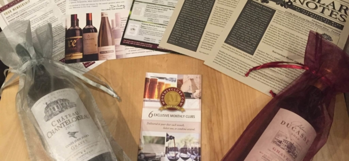 International Wine Club Premier Series February 2016 Review & Coupons