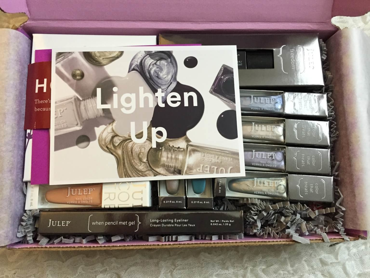Julep Maven March 2016 Subscription Box Review + Free Box Coupons