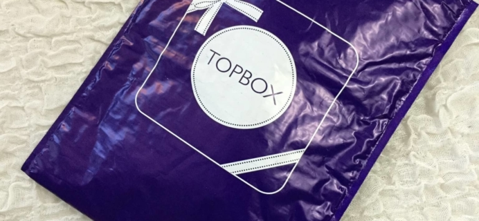 Topbox March 2016 Subscription Box Review