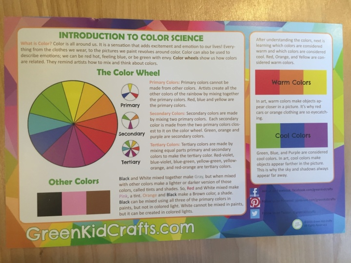 Green Kid Crafts March 2016 Subscription Box Review & Coupon
