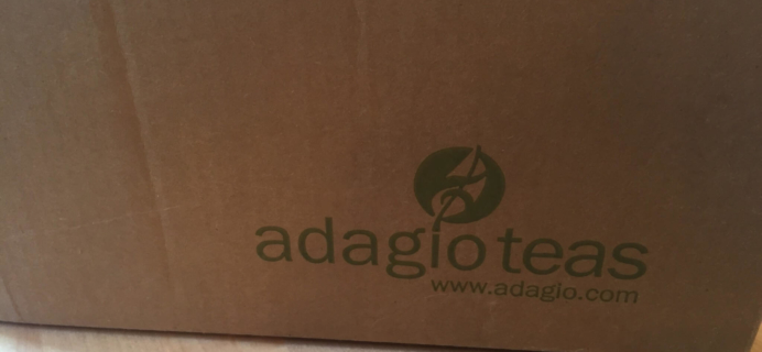 Adagio Herbal Teas May-June 2016 Subscription Box Review