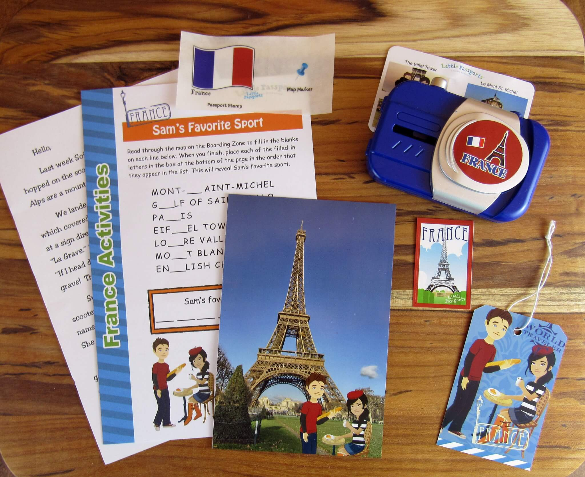 Little Passports World Edition Subscription Box Review + Coupon – March 2016