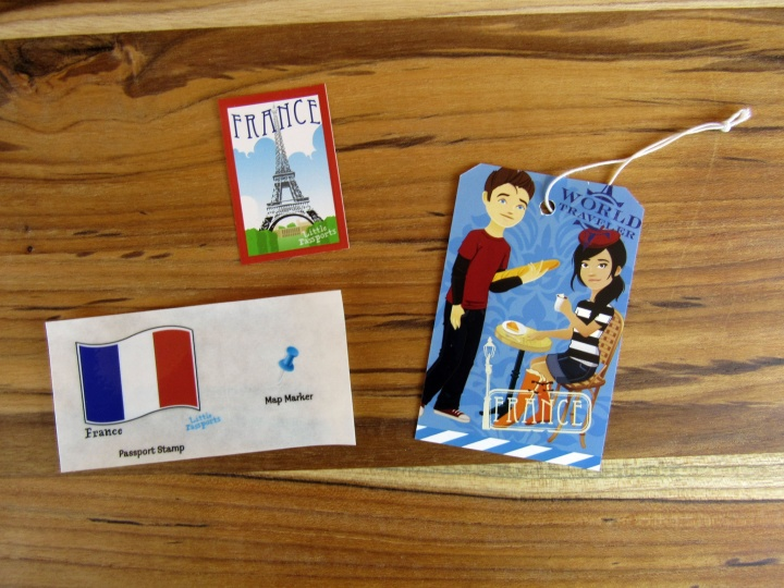 Stickers and Boarding Pass