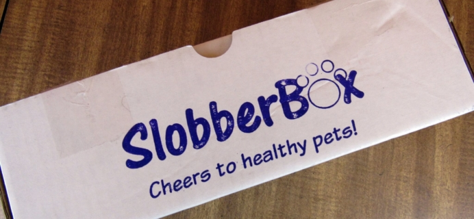 "Slobberbox ""Healer"" Dog Subscription Box Review & Coupon – March 2016"