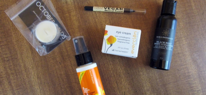 Vegan Cuts Beauty Box Subscription Review – March 2016