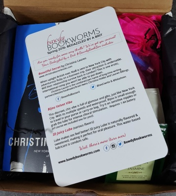 Bawdy Bookworms April 2016 Subscription Box Review & Coupon