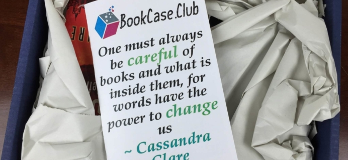 Bookcase Club Subscription Box Review & Coupon – March 2016 Strange Worlds Case
