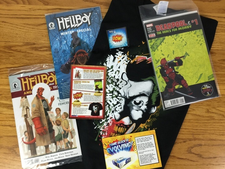 Comic Block Subscription Box Review & Coupon – February 2016