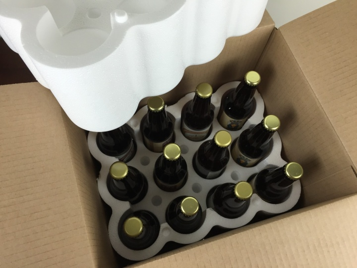craft beer club march 2016 unboxing