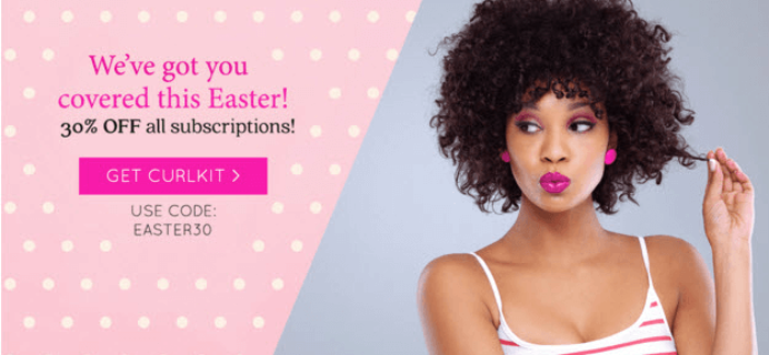 CurlKit Easter Sale – 30% Off Coupon