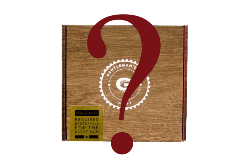 Gentleman's Mystery Box Now Available!