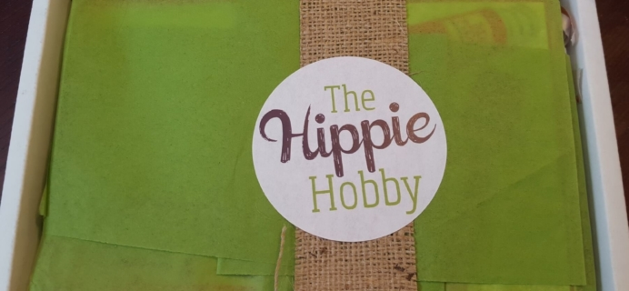 The Hippie Hobby March-April 2016 Subscription Box Review & Coupon