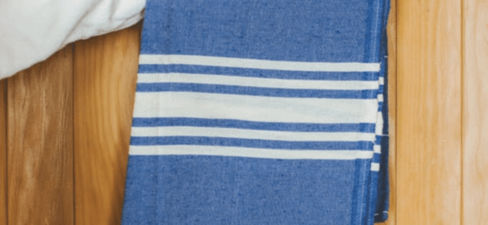 GlobeIn Coupon: Free Peshtemal Turkish Towel with 3-Month Subscription!