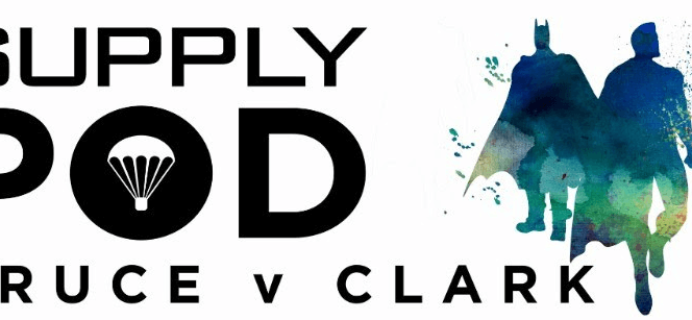 Supply Pod Coupon: Save 15% on Bruce v. Clark April Box!