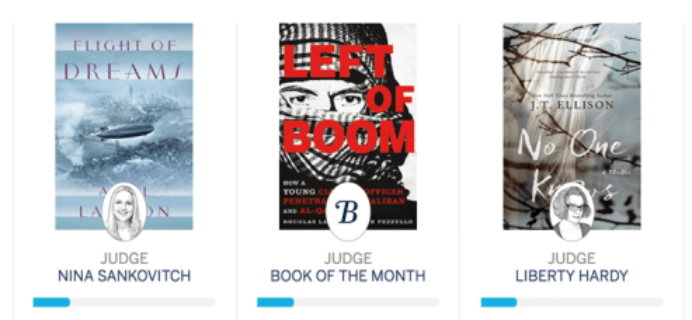 LAST DAY: April 2016 Book of the Month Selection Time + 50% Off Coupon