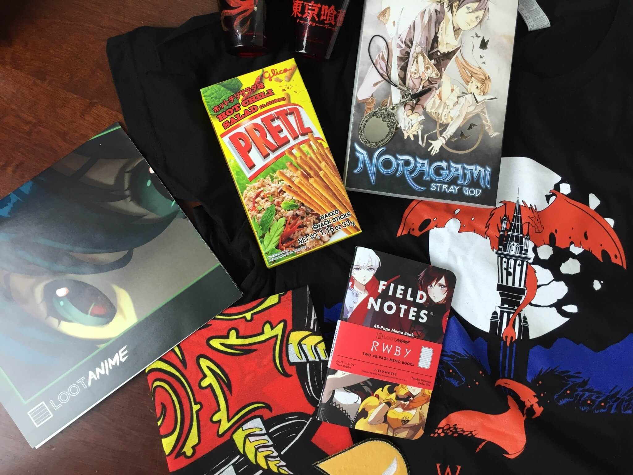 Loot Anime February 2016 Subscription Box Review & Coupons: HAUNTED