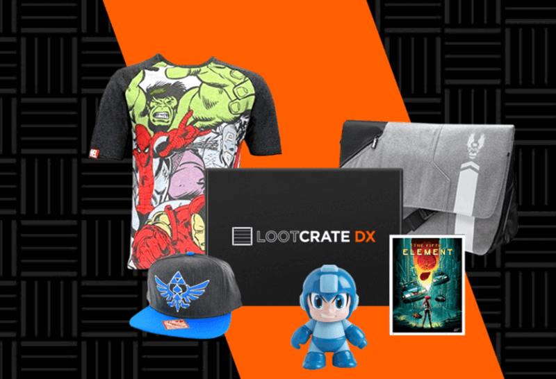 Loot Crate DX Now Available – New PREMIUM Subscription from Loot Crate + Spoilers!