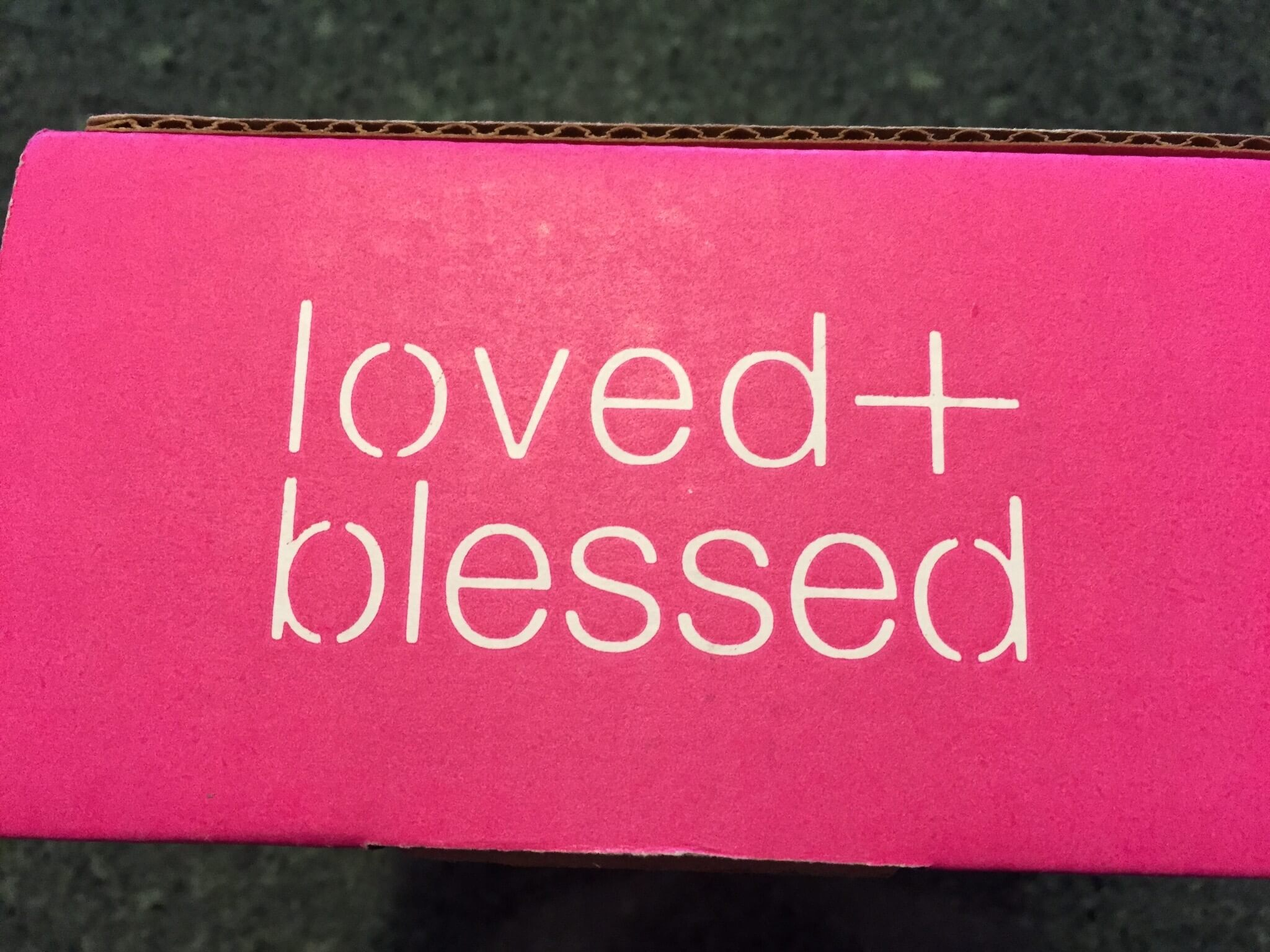April 2016 Loved + Blessed Subscription Box Review