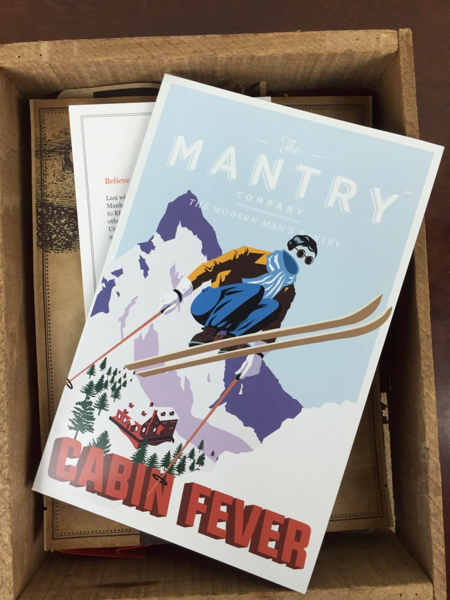 Mantry March 2016 Subscription Box Review