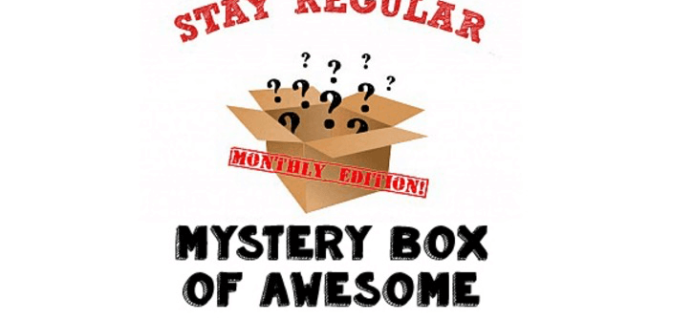 Monthly Mystery Box of Awesome March 2017 Spoiler