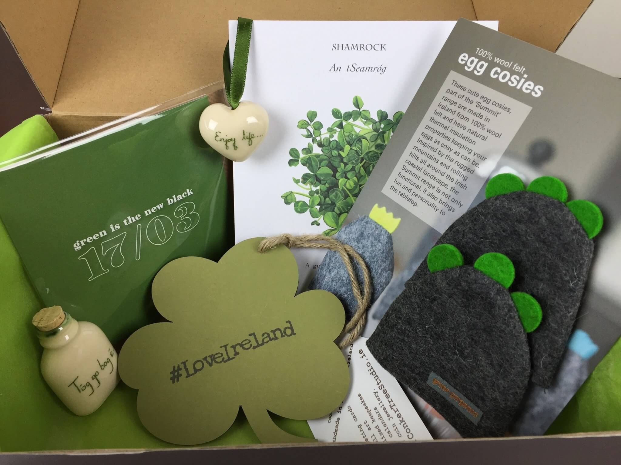 My Ireland Box March 2016 Subscription Box Review Hello Subscription