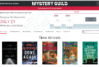 Mystery Guild Book Club – First Book $5.99!
