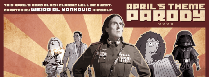 Nerd Block April 2016 Spoilers #2 – Weird Al Block