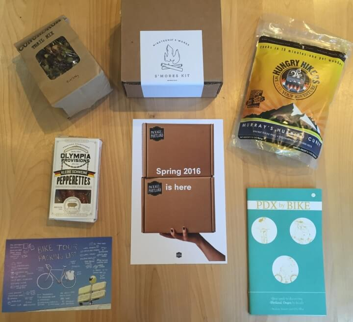 Package from Portland Spring 2016 Subscription Box Review & Coupon