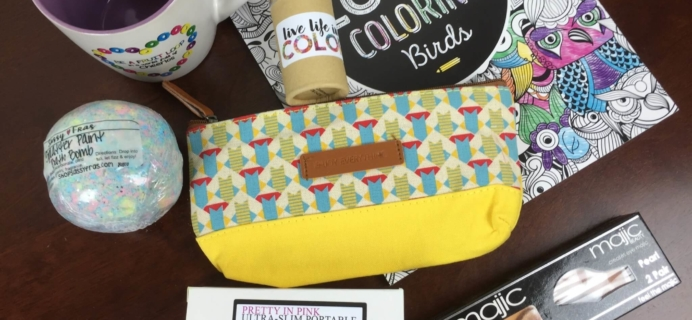 Peaches & Petals March 2016 Subscription Box Review & 50% Off Coupon