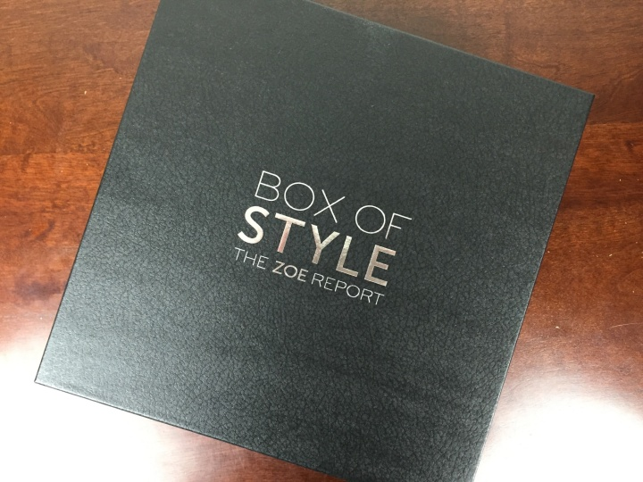 rachel zoe box of style spring 2016 box