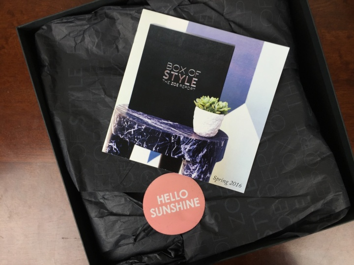 rachel zoe box of style spring 2016 unboxing