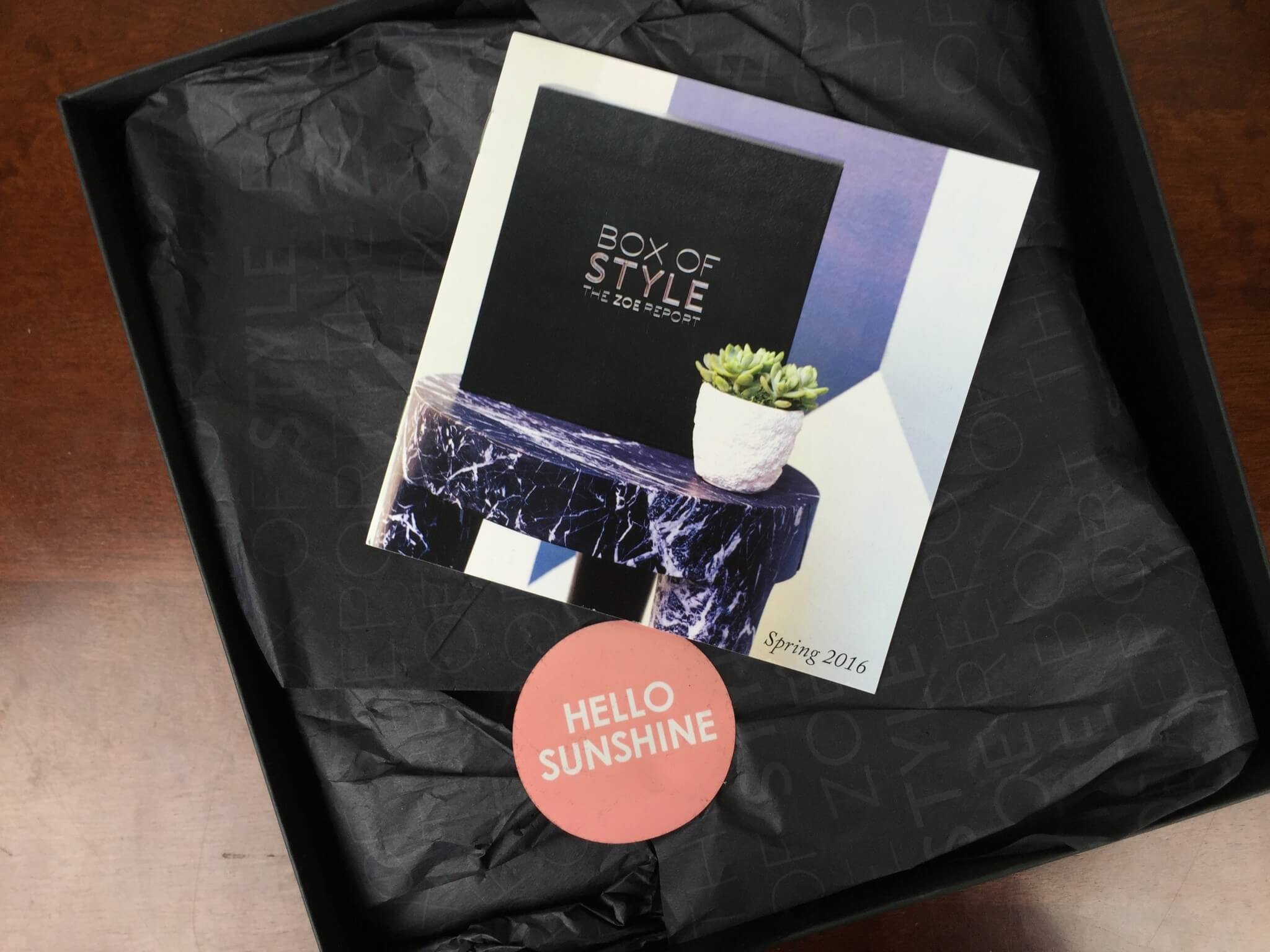 Rachel Zoe Box of Style Spring 2016 Review + Giveaway
