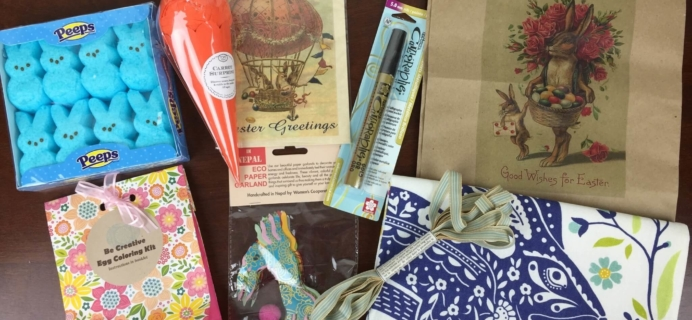 Tinselbox February 2016 Subscription Box Review & Coupon – Easter!