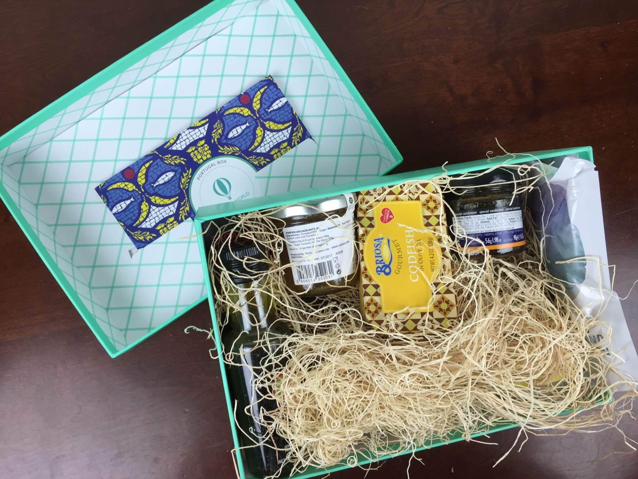 Try The World March-April 2016 Subscription Box Review + Coupon – Portugal Box