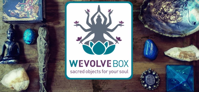 WEvolve Box August 2016 Complete Spoilers & Coupon